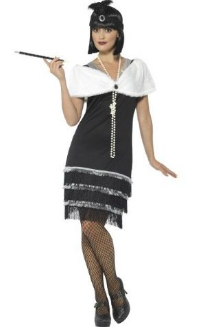 1920's  Flapper Plus Size Costume (43128)